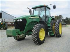 2005 John Deere 7820 MFWD Tractor