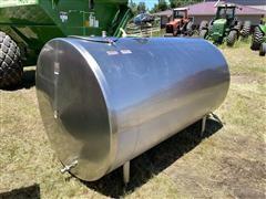 Sunset MEL1000 1000-Gal Stainless Steel Bulk Tank