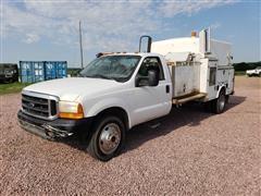 1999 Ford F550 Super Duty 4X4 Service/Utility Truck