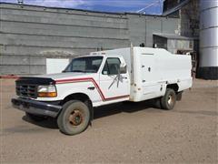 1996 Ford Super Duty 2WD 1 Ton Service Truck