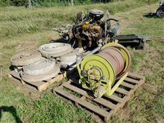 Ford 330 Gas Engine & Pump