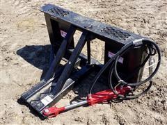 Industrias America Easy Man Skid Steer Mount Tree/ Post Puller