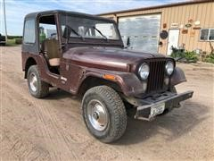 1976 American Motors Jeep CJ5 4x4 SUV