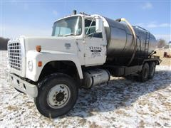 1980 Ford 9000 T/A Water Truck