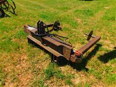 Heavy Duty Shop Built Round Bale Unroller