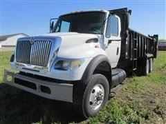 2007 International 7600 T/A Manure Truck