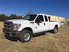 2015 Ford F250 FX4 Super Duty 4X4 Extended Cab Pickup