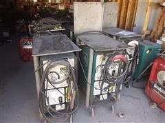 Air Products Combo 160 Stick Mig Tig Welders W/Carts