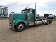 1995 Kenworth W900L T/A Truck Tractor W/Wet Kit