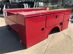 2015 Omaha Standard-Palfinger 108VT-40 Utility Truck Body