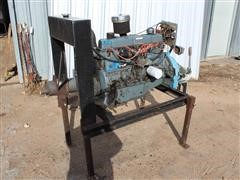 Ford 300 - 6 Cylinder Irrigation Engine On Stand