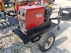Lincoln Electric Ranger 10,000 Plus Welder On Trailer