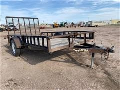 Doolittle S/A Flatbed Utility Trailer