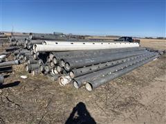 Aluminum Gated Irrigation Pipe