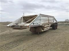 1985 Loadmaster T/A Clamshell Gravel Trailer