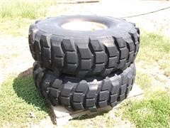 Michelin Military Heavy Duty 16.00-R 20 XL 26 Ply Tires 8 Bolt Irrigation System Rims