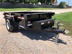2019 Sure-Trac S/A Dump Trailer