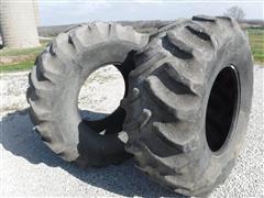 Goodyear Dyna-Torque II 24.5x32 Bar Tires