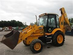 JCB 215 4WD Loader Backhoe W/Extended Hoe Reach