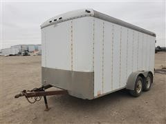 2002 Cargomate T/A Enclosed Trailer