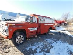 1970 Ford F610 Fuel Truck