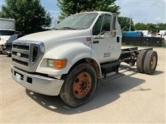 2007 Ford Blue Diamond F650 Cab & Chassis