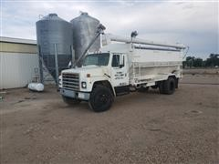 1981 International S1854 Feed Delivery Truck