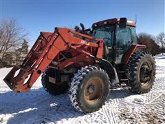 1998 Case IH 135 MFWD Tractor W/Loader