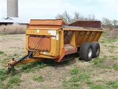 Kuhn Knight 8010 Pro-Twin Side-Discharge Flail Manure Slinger
