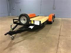 2020 Shop Built T/A Utility Trailer