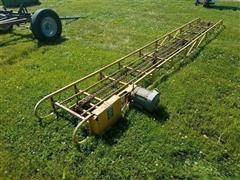 Snowco Hamerblow Portable Electric Hay Conveyor