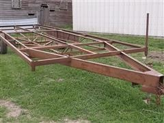 Custom Made Irrigation Pipe Trailer
