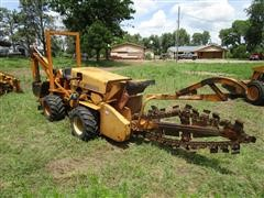 1982 Case 40+4 M572S13 Combo Trencher Backhoe