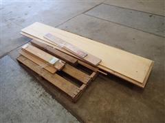Oak Aspen & Cedar Pieces