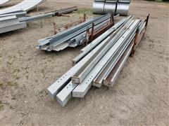 Behlen Galvanized Steel Supports