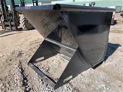 2018 1.75 Yard Skid Steer Dumpster