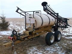Ag-Chem 500-Gal Poly Tank T/A Pull-Type Sprayer