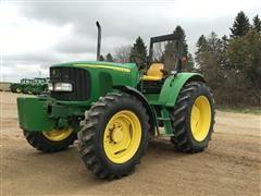 2007 John Deere 6420 MFWD Tractor