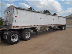 2007 Wilson DWH-501C T/A Grain Trailer
