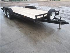 1997 Temco Flatbed Trailer