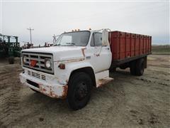 1974 GMC 6000 2WD Grain Truck