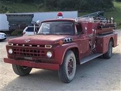 1965 Ford F750 Fire Truck