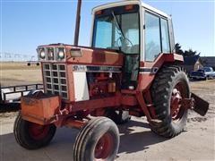 1979 International 1086 2WD Tractor W/Blade