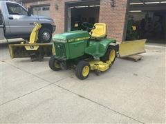 1986 John Deere 330 Lawn Mower W/attachments