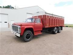 1977 Ford F750 T/A Grain Truck