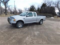 2001 Ford F150XL 4x4 Extended Cab Pickup