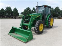 2007 John Deere 6603 MFWD Tractor W/John Deere 542 Quick Attach Loader