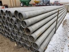 "Hastings 8"" X 30' Gated Irrigation Pipe"