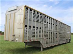 2013 Merritt 53' T/A Livestock Trailer
