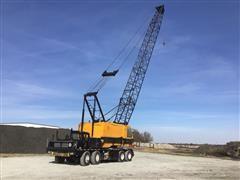 1981 American 7460 100' Lattice Boom Truck Crane W/65T Hook Block